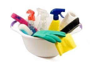 gartentrampolin reinigen